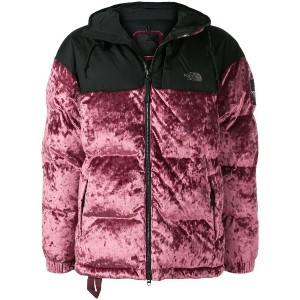 The North Face コントラスト パデッドジャケット - ピンク