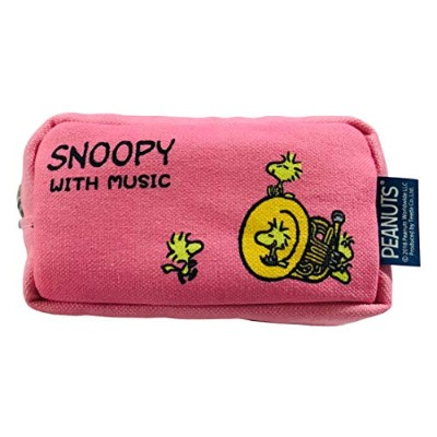 SNOOPY with Music スヌーピー マウスピースポーチ 限定品《コットンキャンディピンク》 (フレンチホルン)