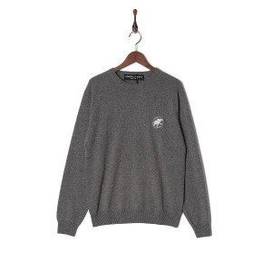 HUNTING WORLD Cashmere Sweater○84KN01 Gy トップス