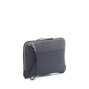 HUNTING WORLD PRESIDIO CLUTCH 4090○4090BPR Gy/wh カバン・バッグ