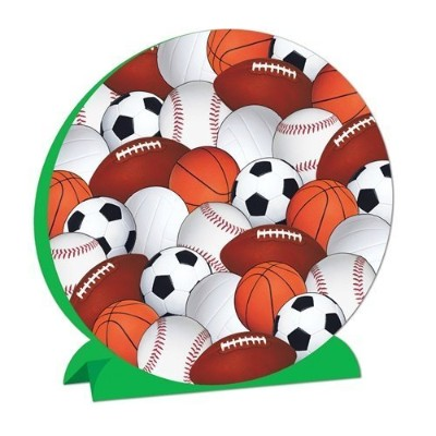 Beistle 57346 3-D Sports Centrepiece - Pack of 12