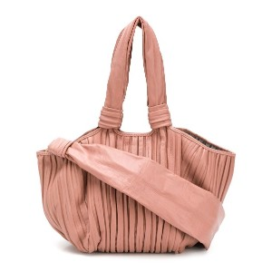 Max Mara large pleated tote - ピンク