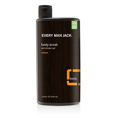 Every Man Jack Citrus Body Scrub 473 ml (並行輸入品)
