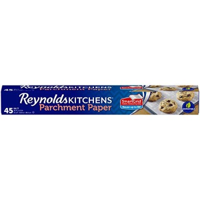 (Single Roll, 4.2sqm Roll) - Reynolds Kitchens Parchment Paper (SmartGrid, Non-Stick, 4.2sqm Roll)
