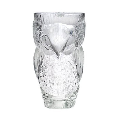 Luminarc Parrot Carved Giant Beer Glass Mug Clear 890ml