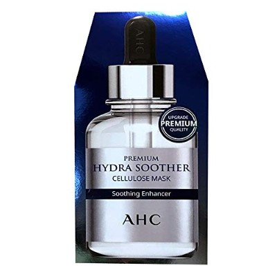 A.H.C (AHC) Premium Hydra Soother Cellulose Mask 27ml × 5EA/A.H.C プレミアム ハイドラ スーザー セルロース マスク 27ml ×...