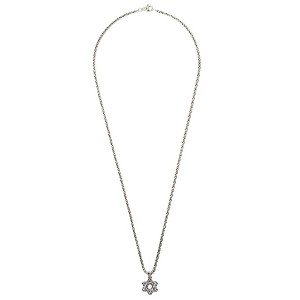 David Yurman Cable Star of David ペンダント - Ss