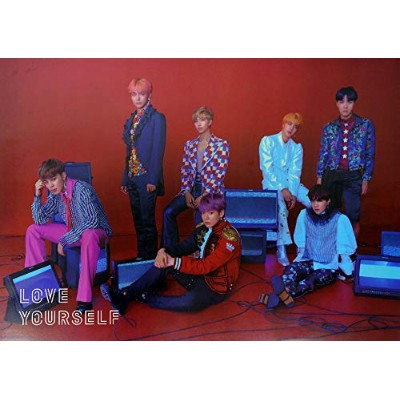 【公式ポスター】 防弾少年団 Bangtan Boys BTS -BTS BANGTAN BOYS - LOVE YOURSELF 結 Answer OFFICIAL POSTER [4 ver...