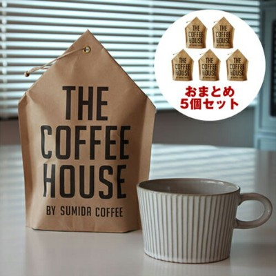 【THE COFFEE HOUSE BY SUMIDA COFFEE コーヒーバッグ おまとめ5個セット】すみだ珈琲 コーヒバッグ ギフト 5個まとめ買い■ 送料無料■ ラッピング無料