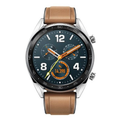 HUAWEI スマートウォッチ WATCH GT Classic Saddle Brown WATCH GT CLASSIC/SAD [WATCHGTCLASSICSAD]