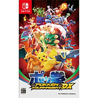 【新品】 ポッ拳 POKKEN TOURNAMENT DX Nintendo Switch HAC-P-BAAYA / 新品 ゲーム