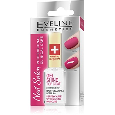 Eveline Cosmetics Gel Shine Top Coat Perfectly Finished Manicure [並行輸入品]