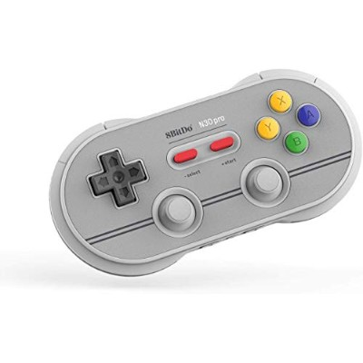 8BitDo N30 Pro 2 Bluetooth ゲームパッド Nitendo Switch/Windows (白)