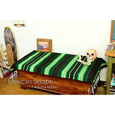 RUG&PIECE Mexican Serape made in mexcico ネイティブ メキシカン サラペ メキシコ製 (rug-6388)