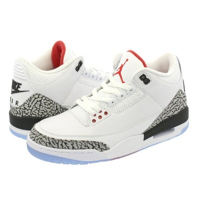 NIKE AIR JORDAN 3 RETRO NRG 【DUNK CONTEST】 ナイキ エア ジョーダン 3 レトロ WHITE/FIRE RED/CEMENT GREY/BLACK...