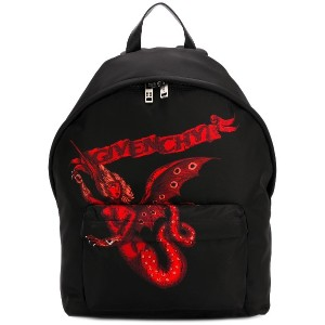 Givenchy Winged Beast バックパック - ブラック