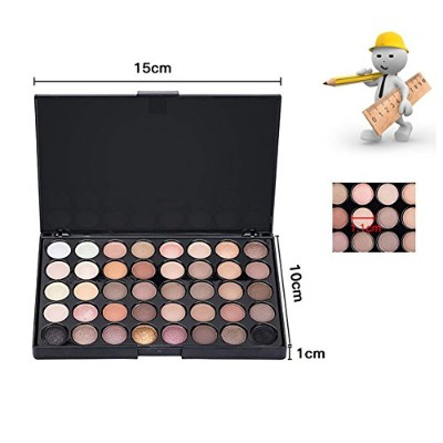 40 colors Matte Eye shadow Pallete Make Up Earth Palette EyeShadow Makeup Glitter Waterproof...