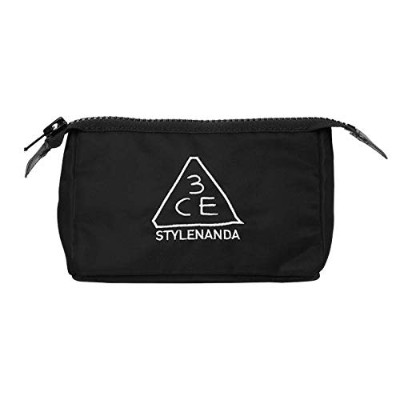 3CE [韓国コスメ 3CE] ポーチ Pouch Small/Original (Small, Black) [並行輸入品]