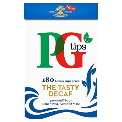 PG Tips The Tasty Decaf 180 Pyramid Tea Bags 522g
