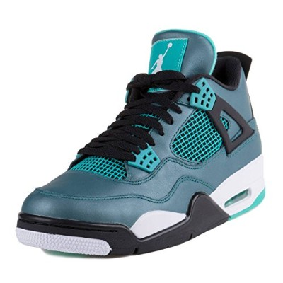Nike Air Jordan 4 Retro 30TH [705331-330] Basketball Teal/White-Black