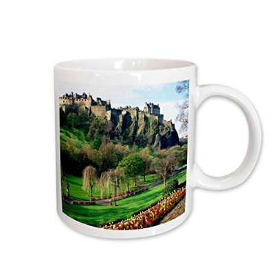 (440ml) - 3dRose Castle in Edinburgh Scotland Ceramic Mug, 440ml