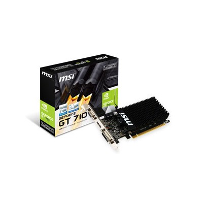 GT710 1GD3H LP MSI PCI-Express 2.0 x8対応(形状はx16) グラフィックスボードMSI GT710 1GD3H LP