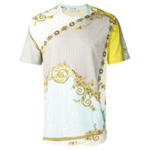 Versace Collection プリント Tシャツ - グリーン