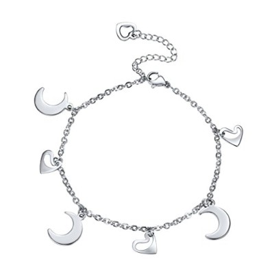 ProSteel Anklets For Womenステンレススチール夏ビーチジュエリーボヘミアンGifts for Her Daintyアンクレット