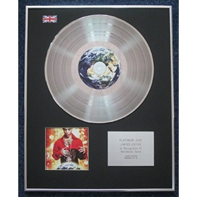 Prince - Limited Edition CD Platinum LP Disc - Planet Earth