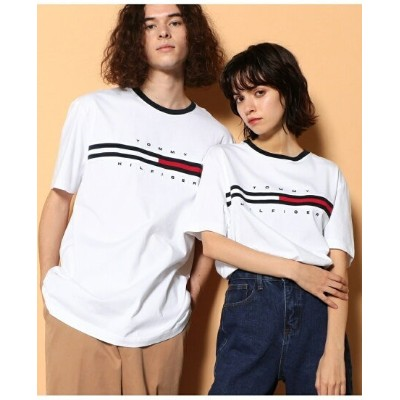 TOMMY HILFIGER TOMMY HILFIGER(トミーヒルフィガー) トミーヒルフィガーロゴTシャツ/TINO TEE ロゴ Tee カットソー 半袖 Tシャツ メンズ...