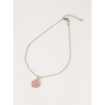 BEADED DNA BEADED DNA/(W)Lady Like Anklet トーホー アクセサリー アンクレット ピンク