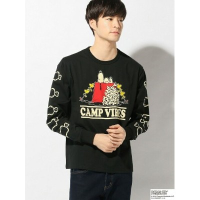 LOWBLOWKNUCKLE/(M)CAMPVIBES SNOOPY L/T サンコーバザール カットソー【送料無料】