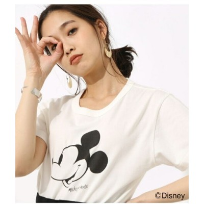 【SALE/50%OFF】AZUL by moussy Mickey Mouse TEE アズールバイマウジー カットソー【RBA_S】【RBA_E】