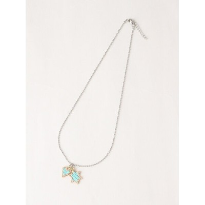 BEADED DNA BEADED DNA/(W)Lady Like Necklace トーホー アクセサリー ネックレス ブルー