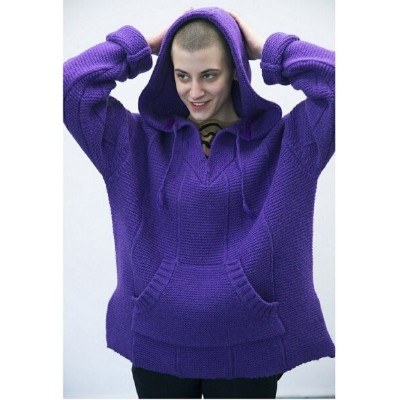 BAL HAND KNIT MEXICAN HOODED SWEATER バル ニット【送料無料】