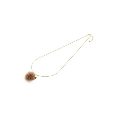 【SALE/50%OFF】CLEAR IMPRESSION ミンクファーネックレス クリアインプレッション アクセサリー【RBA_S】【RBA_E】
