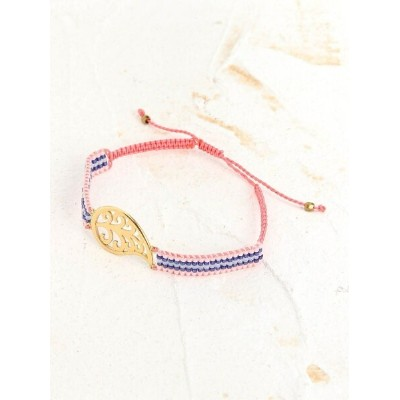 BEADED DNA BEADED DNA/(W)Sara Brecelet トーホー アクセサリー ブレスレット ピンク