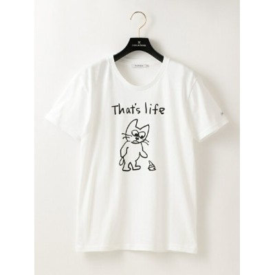 【SALE/27%OFF】GUILD PRIME ◇◇WOMENS CAT THAT'S LIFE Tシャツ ギルドプライム カットソー【RBA_S】【RBA_E】【送料無料】