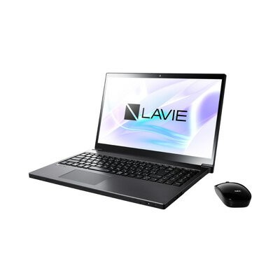 NEC Office搭載15.6型ノートPC (Core i7/256GB SSD/BD) LAVIE Smart NEXT PC-SN187BEAC-2 グレイスブラック