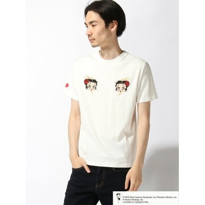 【SALE/20%OFF】LOWBLOW KNUCKLE LOWBLOW KNUCKLE/(M)BOOP NIPPON Tシャツ サンコーバザール カットソー【RBA_S】【RBA_E】【送料無料】