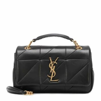 イヴ サンローラン Saint Laurent ショルダーバッグ Jamie Small leather shoulder bag Nero