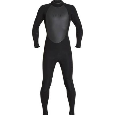 エクセルハワイ ウェットスーツ Infiniti 3/2mm Back - Zip Wetsuits Black/Black Logos