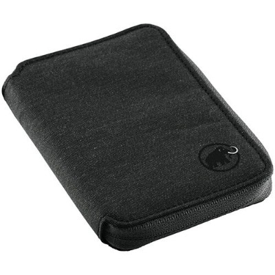 マムート MAMMUT 財布 Zip Wallet Melange 0001/black 2520-00720