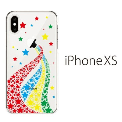 Plus-S iPhone xs ケース iPhone xs max ケース iPhone アイフォン ケース スター 天の川 iPhone XS iPhone X iPhone8 8Plus...