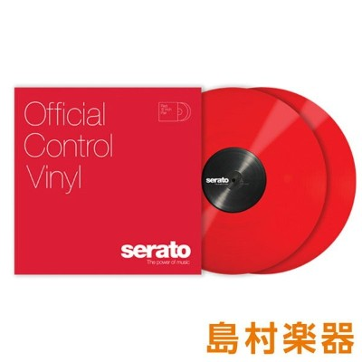 Serato Control Vinyl Performance Series [ Red] レッド 2LP Scratch Live用コントロールバイナル 【セラート】