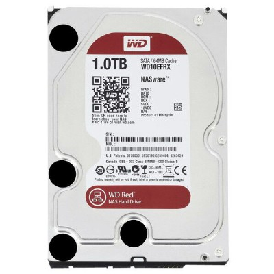WESTERN DIGITAL 内蔵型 1TB HDドライブ WD Red WD10EFRX [WD10EFRXC]【APRP】