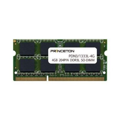 プリンストン PDN3/1333L-4G 4GB PC3L-10600(DDR3L-1333) 204PIN SO-DIMM PDN3/1333L-4G