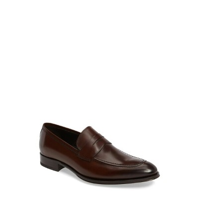 トゥーブート メンズ ドレスシューズ シューズ To Boot New York Alexander Penny Loafer (Men) Marrone Leather