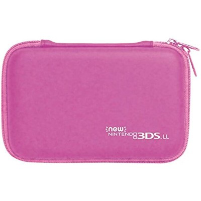 New3DS LL対応スリムハードポーチ for Newニンテンドー3DS ピンク[3DS-459][ホリ]