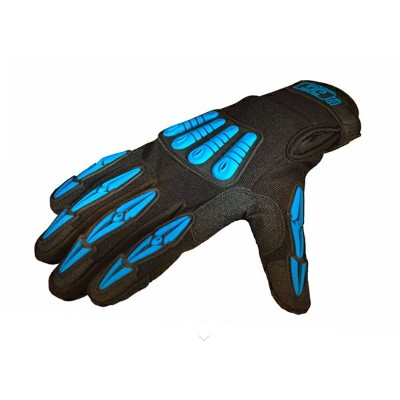 Gig Gear/THERMO-GIG GLOVES (Black/Blue) Large